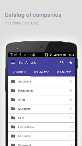 San Antonio Map offline  screenshots 10