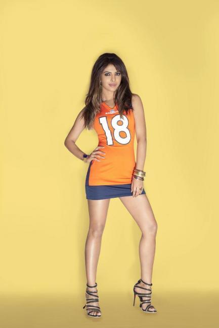 Priyanka Chopra NFL Jersies