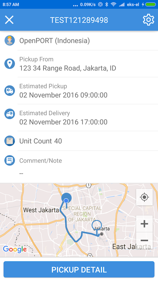 OpenPort Logistics- screenshot