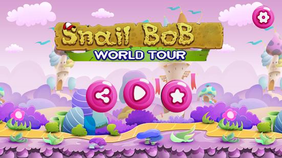 Snail Bob : World Tour - náhled