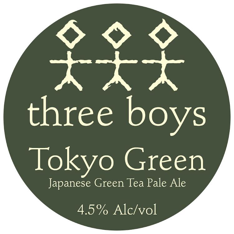 Logo of Three Boys Tokyo Green Tea Ale