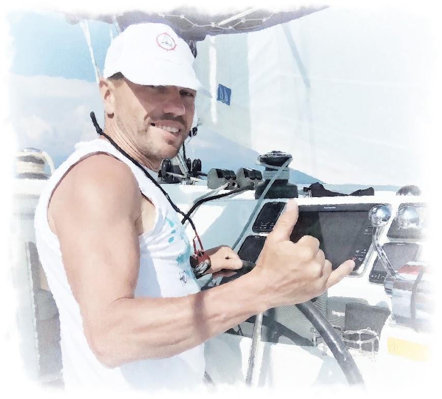 2019. Хочу на яхту! Поход на круизном парусном катамаране. На стыке морей, Эгейского и Средиземного! VQ8o69