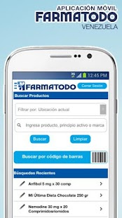 Farmatodo Venezuela Screenshot