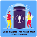 Voice Changer App For Phone Calls Female To Male icon