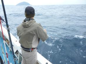 Photo: ソノハタさん!餌釣りで再びヒット!