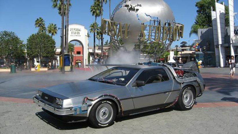 Delorean Time Machine Hire Deal