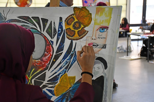 Art at Mulberry School for Girls