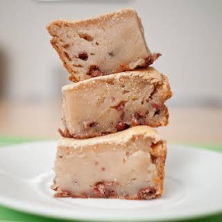 Red Bean Mochi Cake.