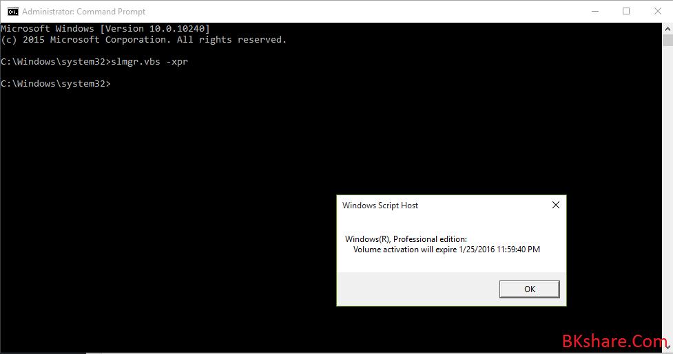 Hướng dẫn kích hoạt bản quyền Windows 10 6 tháng