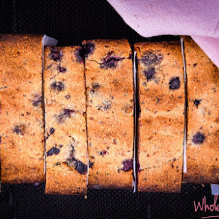 Five Ingredient Blueberry and Banana Bread.