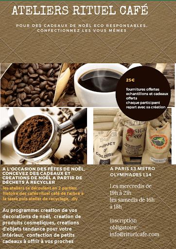 ATELIERS RITUEL CAFE POUR NOEL