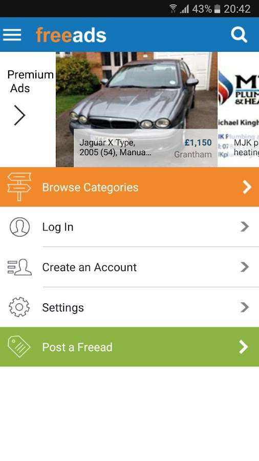 Freeads – free classified app- screenshot