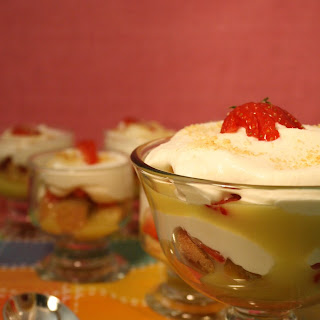 Lemon Curd & Strawberry Trifle