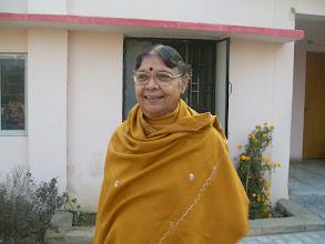 Photo: Founder, Manisha Mandir, Lucknow