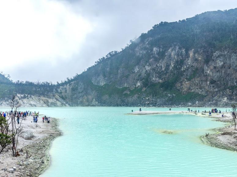 The Landscape of Kawah Putih