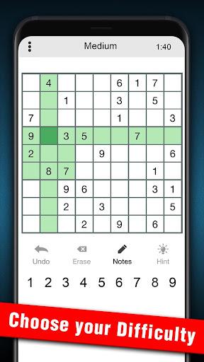 Sudoku 1.2.25 screenshots 3