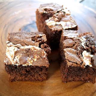 Marshmallow Chocolate Brownies.