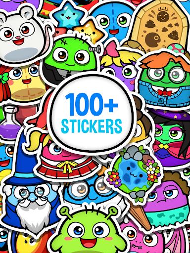 My Boo Album - Virtual Pet Sticker Book For Kids
