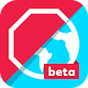 Adblock Browser Beta: Block ads, browse faster icon