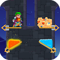 Hero rescue:Pull the pins&Save the princess icon