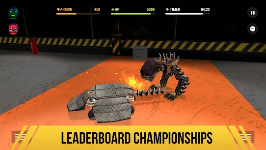 Robot Fighting 2 MOD (Unlimited Gold/Silver) 3