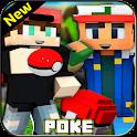 Pokecraft Mod For MCPE & Kalos Pixelmon Mod 2021 icon