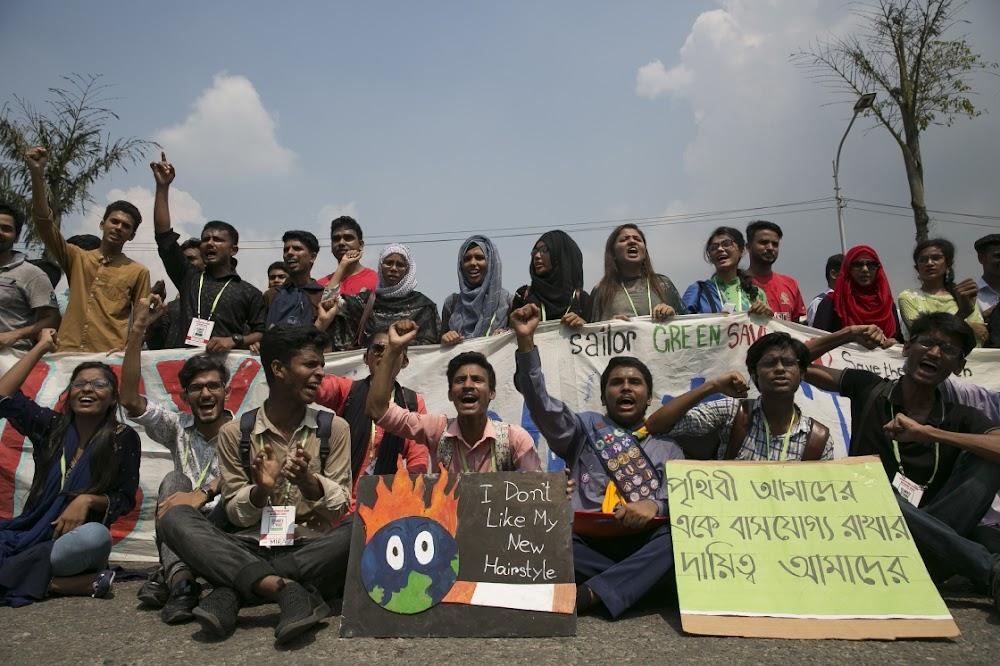 Studente in Australië en Asië begin wêreldwye klimaatsstaking