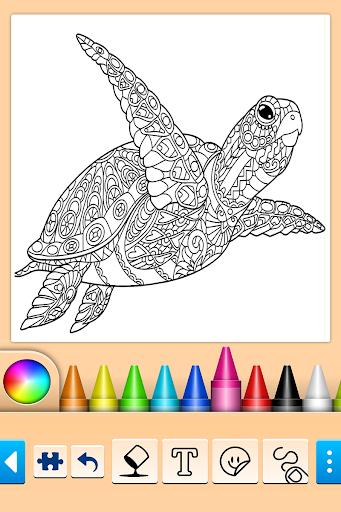 Mandala Coloring Pages filehippodl screenshot 4