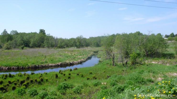 река Держа в среднем течении