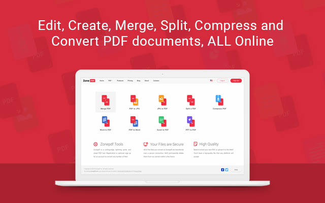Zone PDF: Edit and Convert PDFs