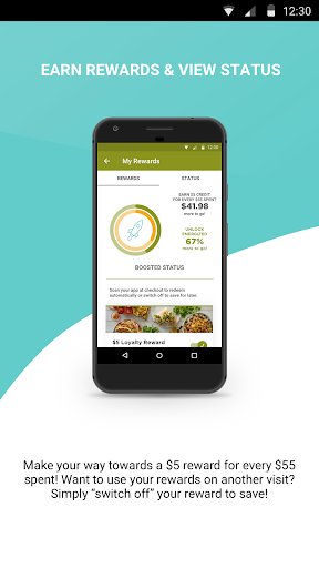 Tropical Rewards App Screenshot