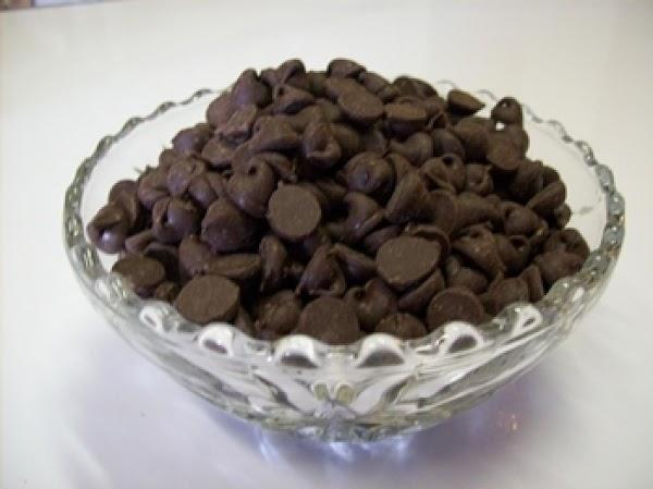 melt chocolate chips &