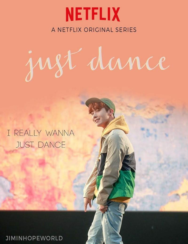 J-Hope Just Dance as Netflix movie