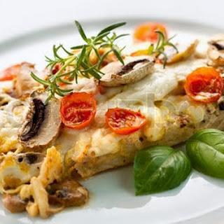 Bonito Under Mushroom Sauce