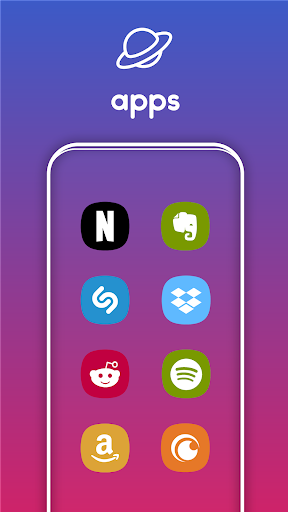 Screenshot for One UI Pie - Icon Pack in Hong Kong Play Store