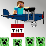 Steve the Bomber - Creeper craft with TNT mine