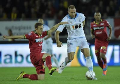 Malade, Depoitre est incertain pour Anderlecht
