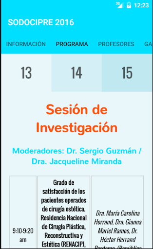 XVII Congreso Cirugía Plástica