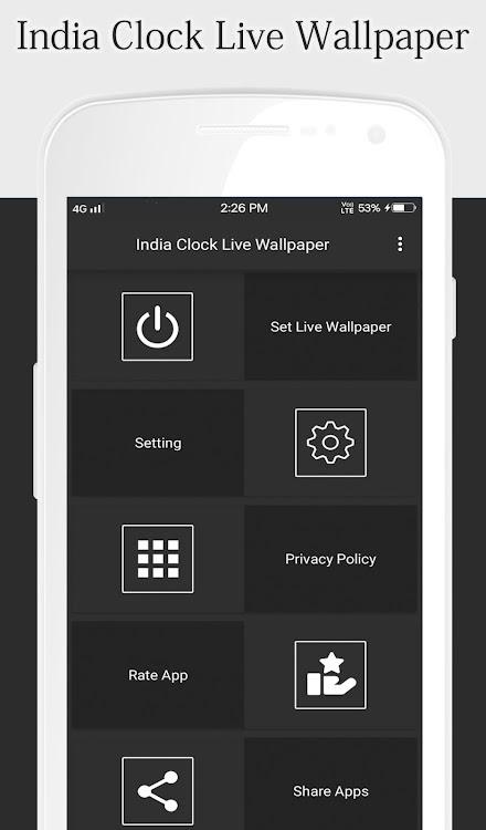 India Clock Live Wallpaper Android Aplicaciones Appagg
