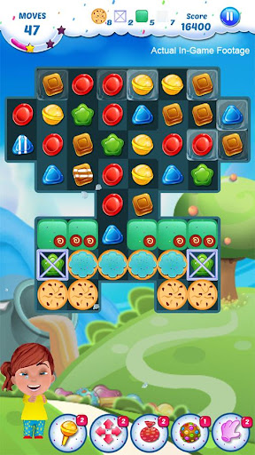 Gummy Candy - Match 3 Game screenshots 14