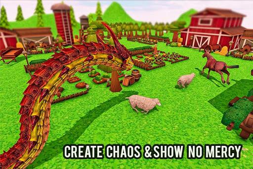 Furious Anaconda Dragon Snake City Rampage 1.0 screenshots 3