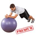 Exercise Ball Workout Premium icon