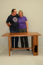 Photo: Scott's desk for Kitty Tasmanian Blackwood