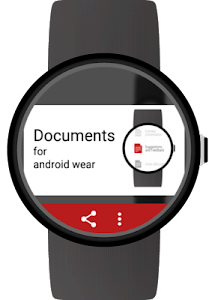 Documents for Android Wear screenshot 1