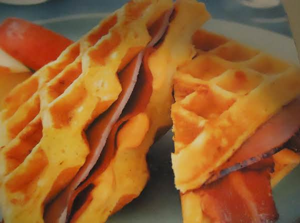 Norma's Morning Or Evening Waffle-wiches Recipe