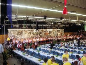 Photo: Gesammtspiel aller anwesenden Musikanten ca. 500