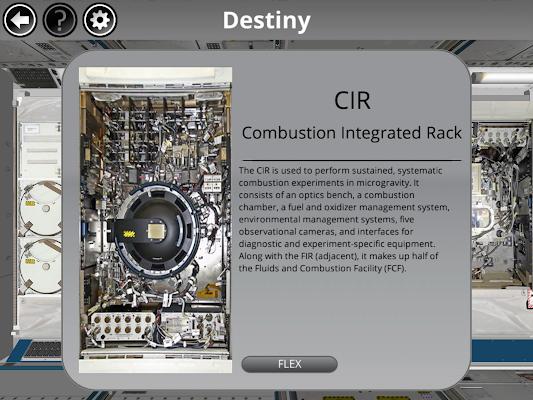 Space Station Research Explorer - screenshot