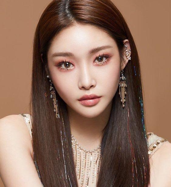 chungha makeup 1