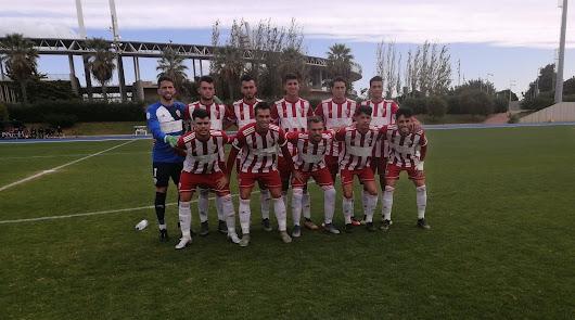 El once del filial del Almería.