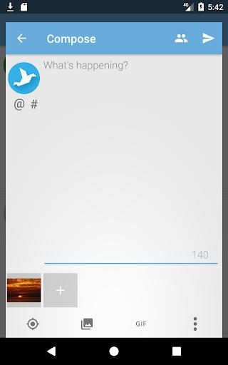 Screenshot for Tweetings for Twitter in Hong Kong Play Store